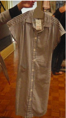 Striped 70's Dress