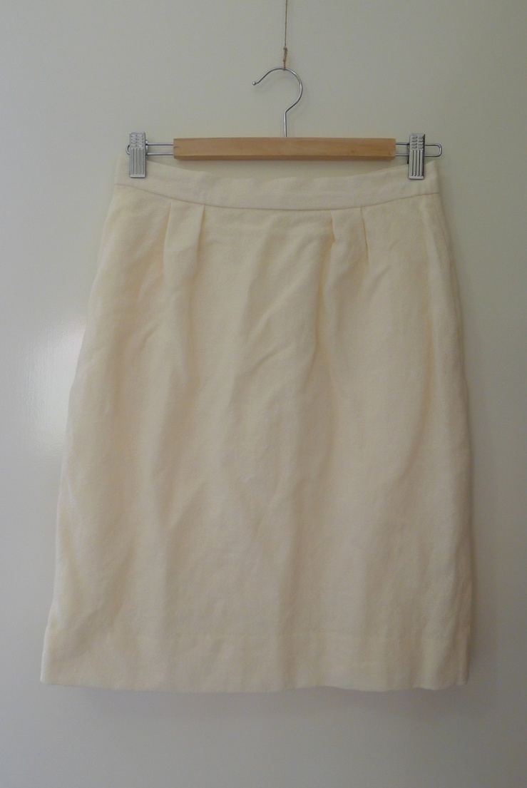 Cream pencil skirt from Save the Children Scarborough