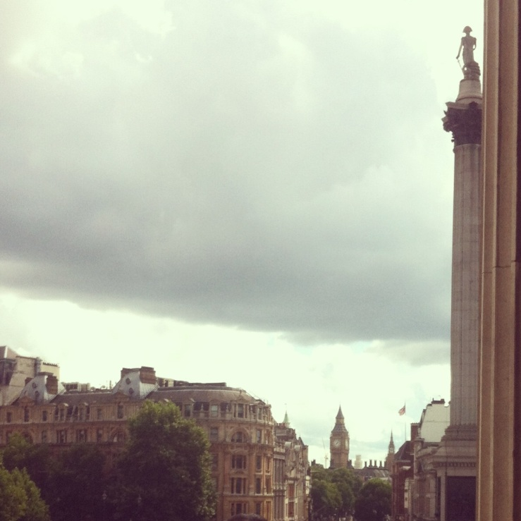 view from the national gallery