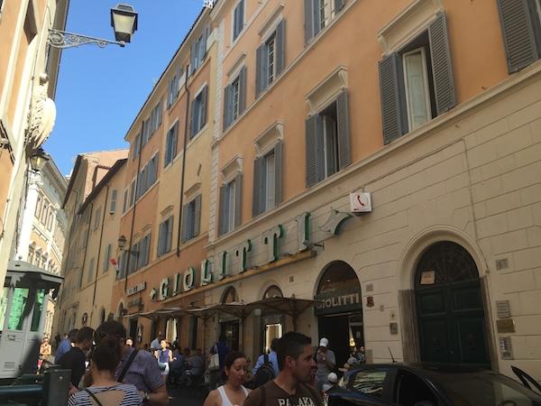 Giolitti, the main reason why I went to Rome