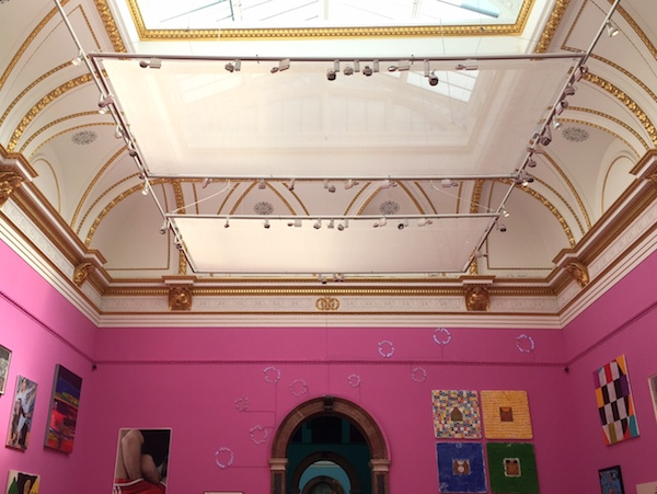 Royal Academy Summer Exhibition 2015 pink