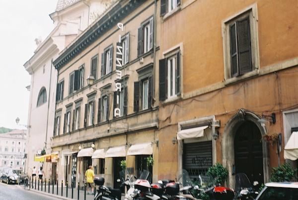 Rome Olympus Trip Film 10