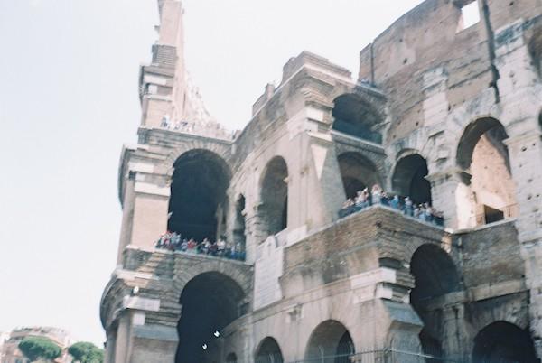 Rome Olympus Trip Film 16