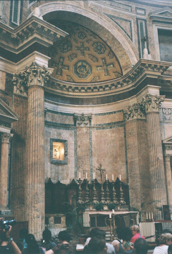 Rome Olympus Trip Film 5