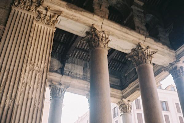 Rome Olympus Trip Film 7