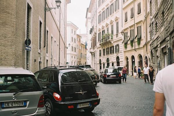 Rome Olympus Trip Film 8